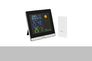 Thermometer u. Wetterstationen
