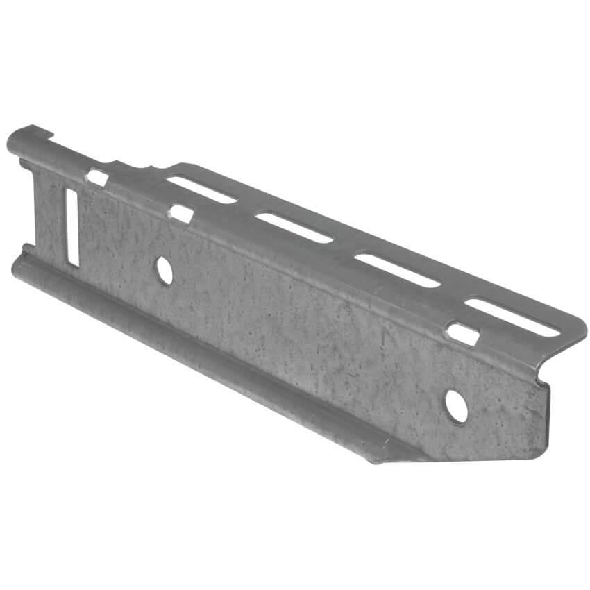 Stiel-Konsole für Kabelrinne, Stahl, Tragkraft 600 N - VAN GEEL, P31 ...