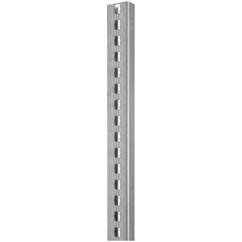 Profil, gelocht, M8, Stahl, Länge 2 Meter - VAN GEEL, P31 ...
