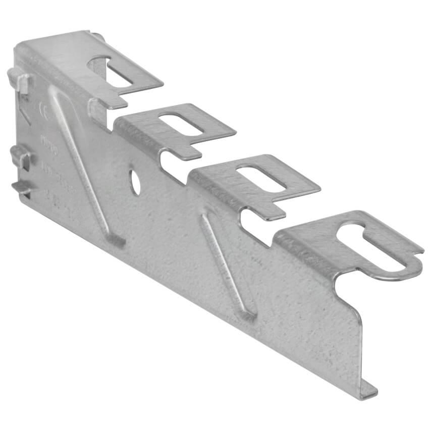 Wandkonsole für Kabelrinne, Stahlblech, Tragkraft 750 N - VAN GEEL ...