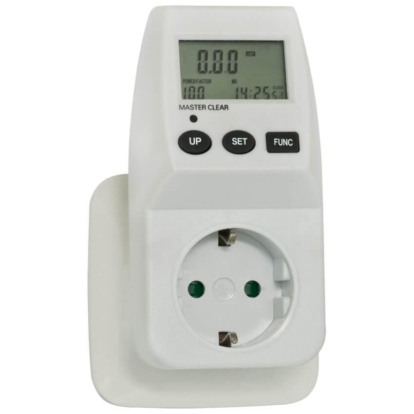 Steckdosen-Energie- Messgerät zur Messung des Energieverbrauchs von ...