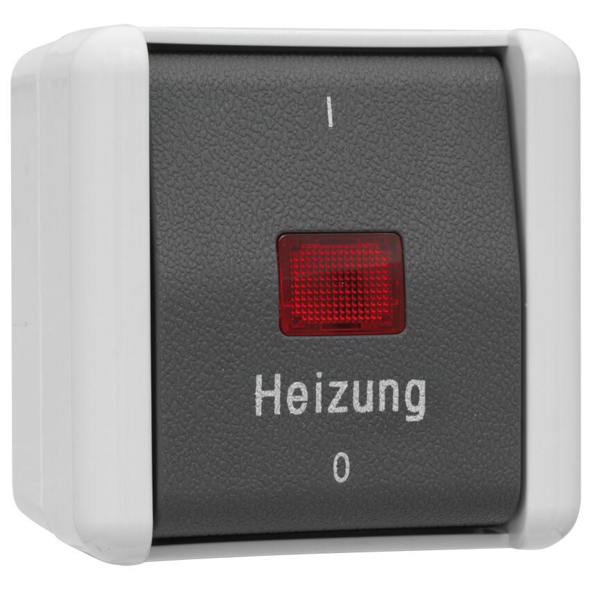 schalter heizung 2 pol ap fr jung wg 800 jung wg. Black Bedroom Furniture Sets. Home Design Ideas