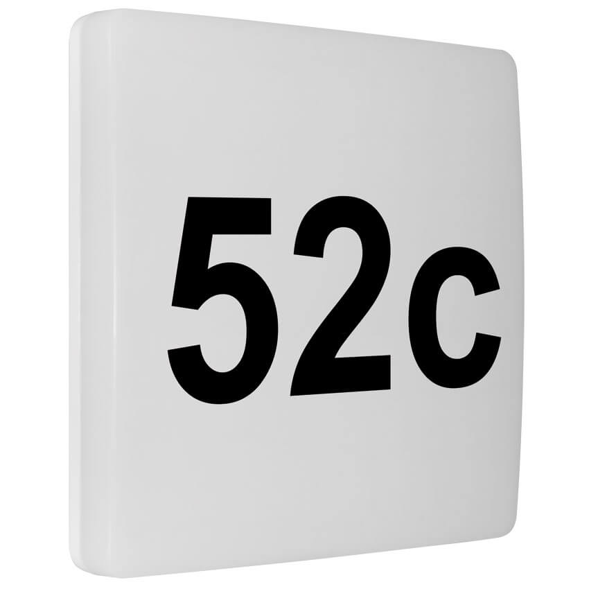 Led Hausnummernleuchte Leds6w Mit Dämmerungssensor Ohne Bw