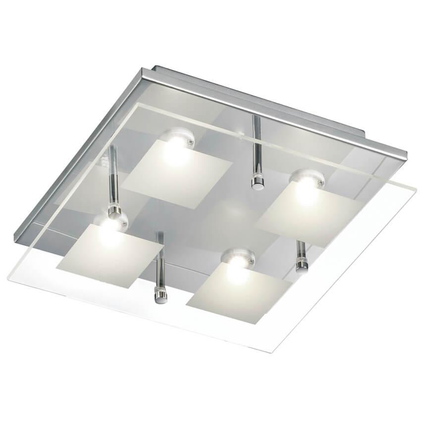 led deckenleuchte 4 leds 230v 4 5w deckenleuchten wohnraumleuchten leuchten beleuchtung max. Black Bedroom Furniture Sets. Home Design Ideas
