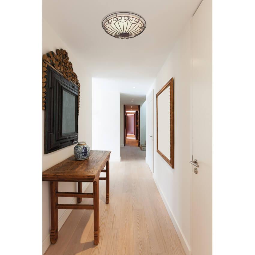 Deckenleuchte 2 x e27 60w deckenleuchten for Deckenleuchte wohnzimmer e27