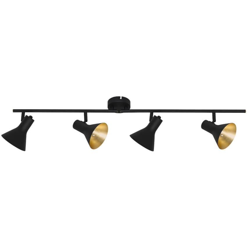 schiene nina 4 x e14 40w strahler wohnraumleuchten leuchten beleuchtung max pferdekaemper. Black Bedroom Furniture Sets. Home Design Ideas