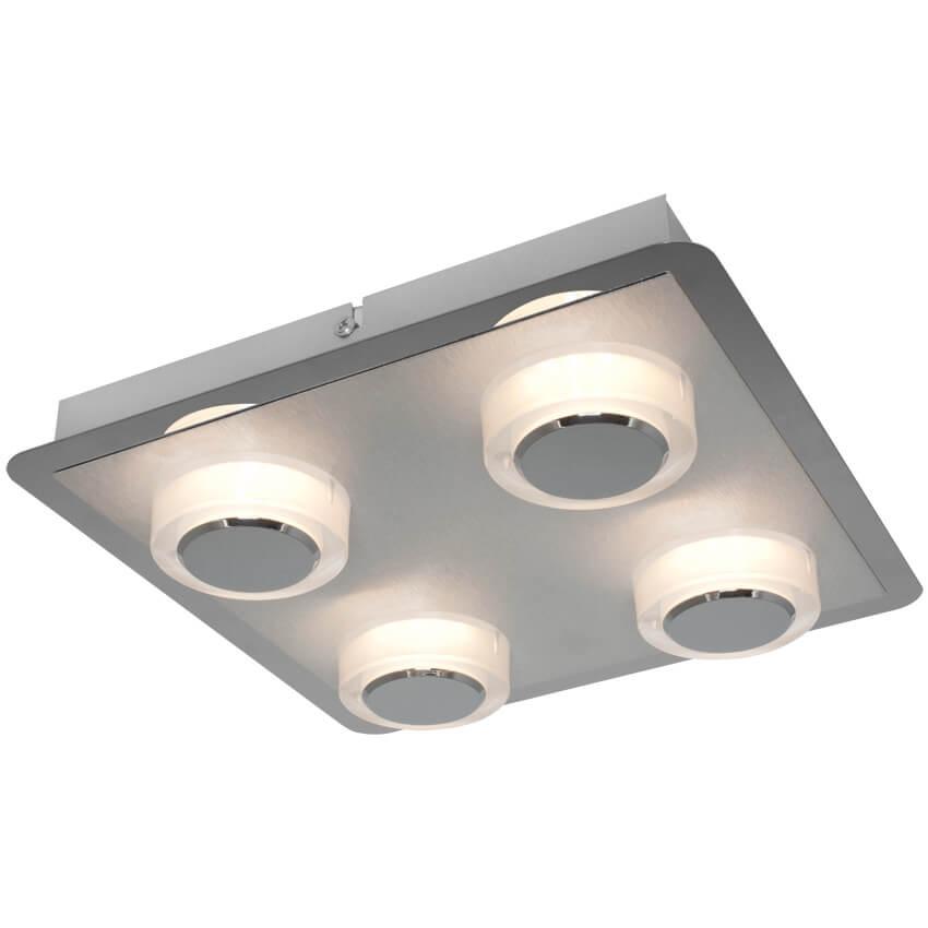 led deckenleuchte 4 leds 5w deckenleuchten wohnraumleuchten leuchten beleuchtung max. Black Bedroom Furniture Sets. Home Design Ideas