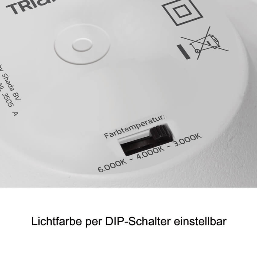 LED-Downlight AP/UP,  3000/4000/6000K, DA-Ø 225 - max. 310 Bild 5