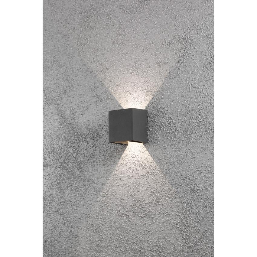 led au enwandleuchte cremona 2 leds 3w au enwandleuchten au enleuchten leuchten beleuchtung. Black Bedroom Furniture Sets. Home Design Ideas
