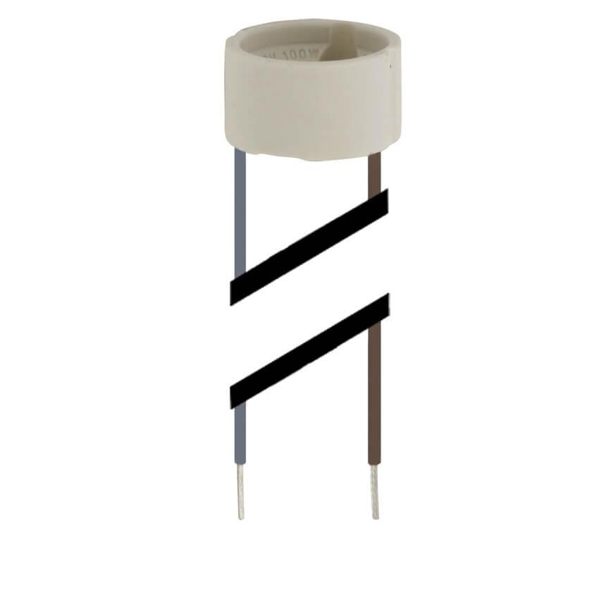 fassung f r hv halogenlampen gu10 sonderfassungen fassungen leuchtenzubeh r leuchten. Black Bedroom Furniture Sets. Home Design Ideas