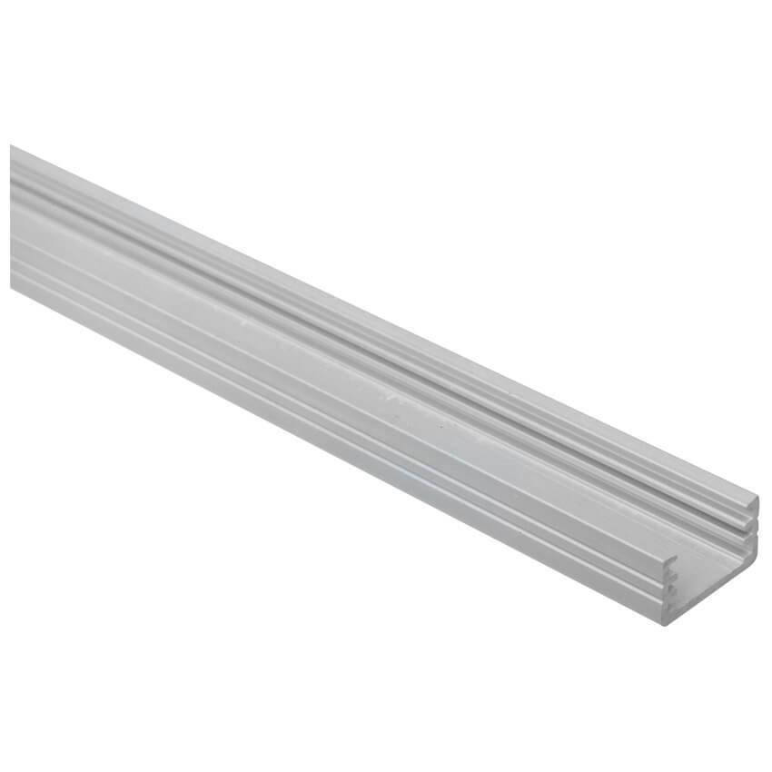 u profil aus aluminium f r led strips bis 8 mm l 1000. Black Bedroom Furniture Sets. Home Design Ideas