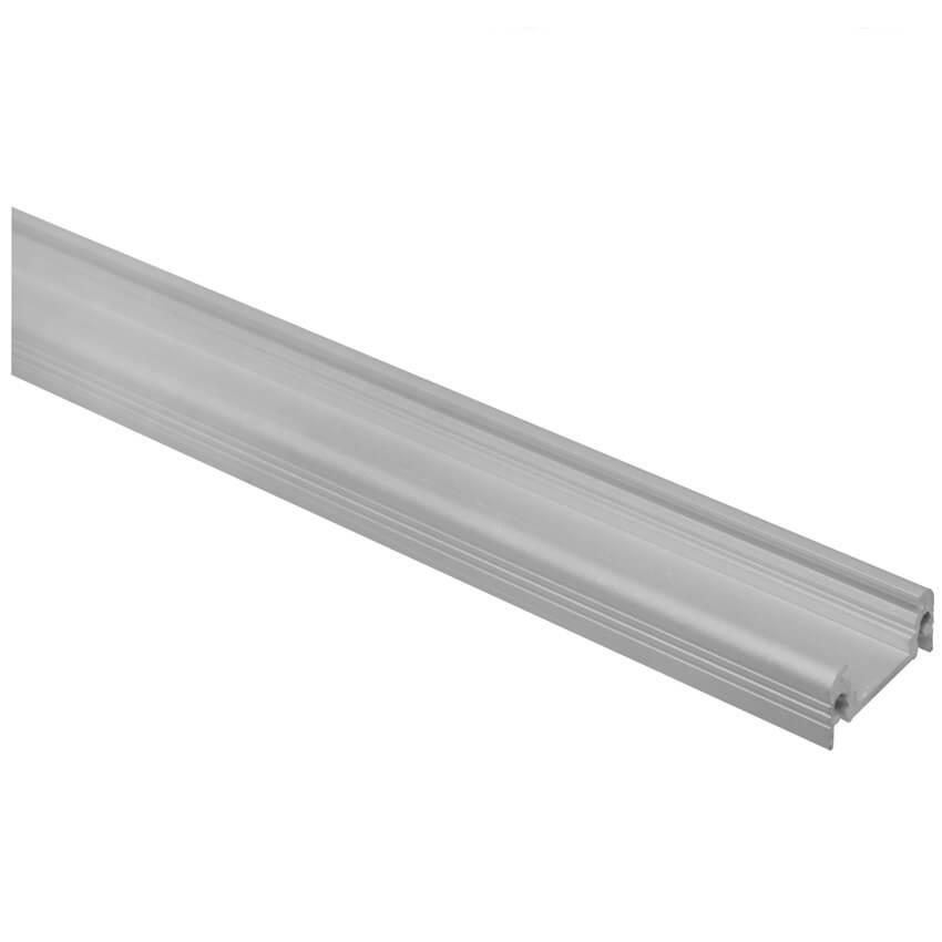 h profil aus aluminium f r led strips bis 10 mm alu profile f r decken wand oder. Black Bedroom Furniture Sets. Home Design Ideas