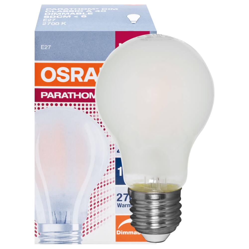 LED-Lampe, PARATHOM ADVANCED RETROFIT CLASSIC A, AGL-Form, matt ...