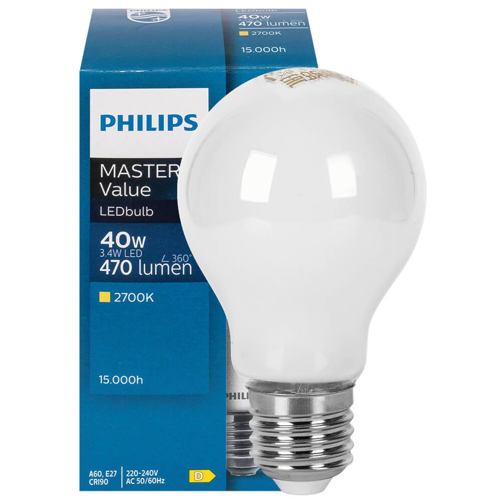 LED-Lampe, COREPRO LEDBULB, AGL-Form, matt, E27/230V, Lebensdauer ...