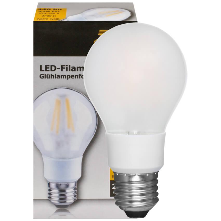 filament led lampe agl form matt e27 230v led. Black Bedroom Furniture Sets. Home Design Ideas