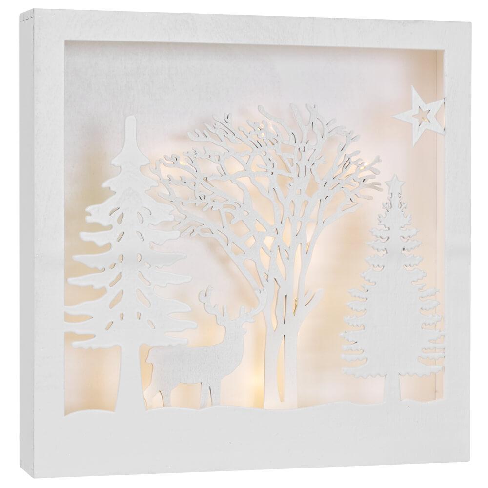 Led Bilder Weihnachten.Led Bilder Falkabo Warmweisse Leds Dekoartikel