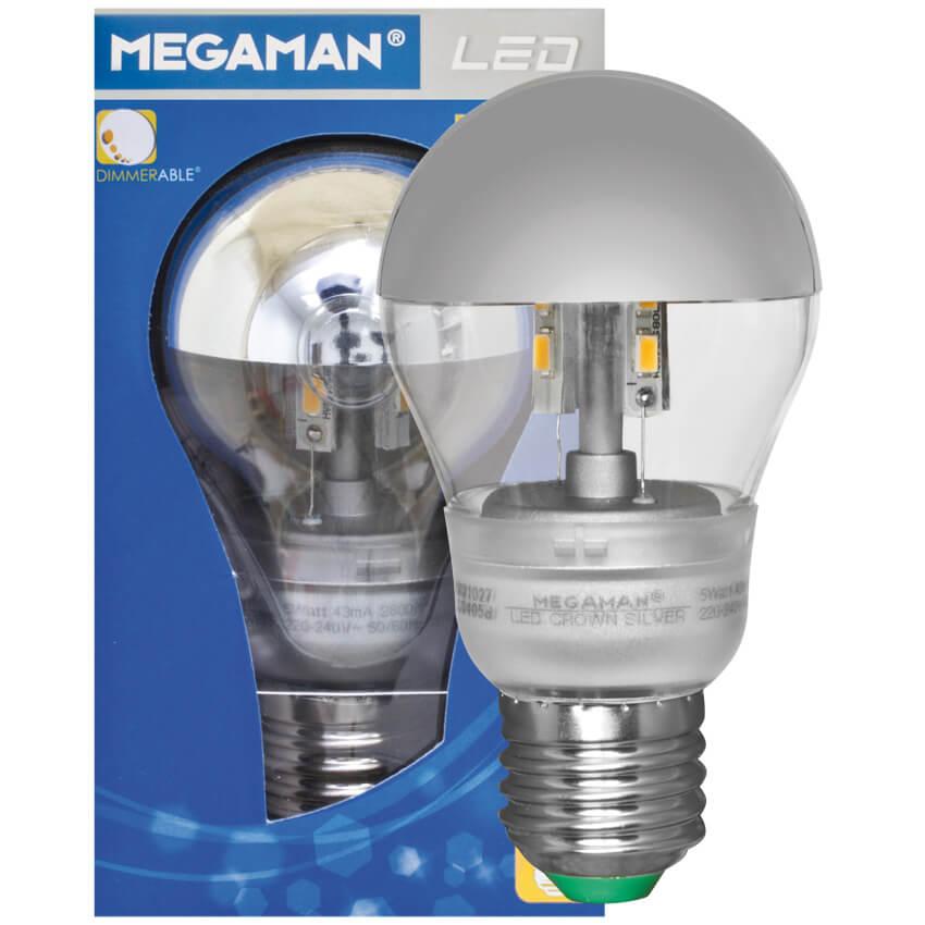 Led lampe classic kopfspiegellampe agl form kar silber e27 240v 5w lebensdauer - Kopfspiegellampe led e27 ...