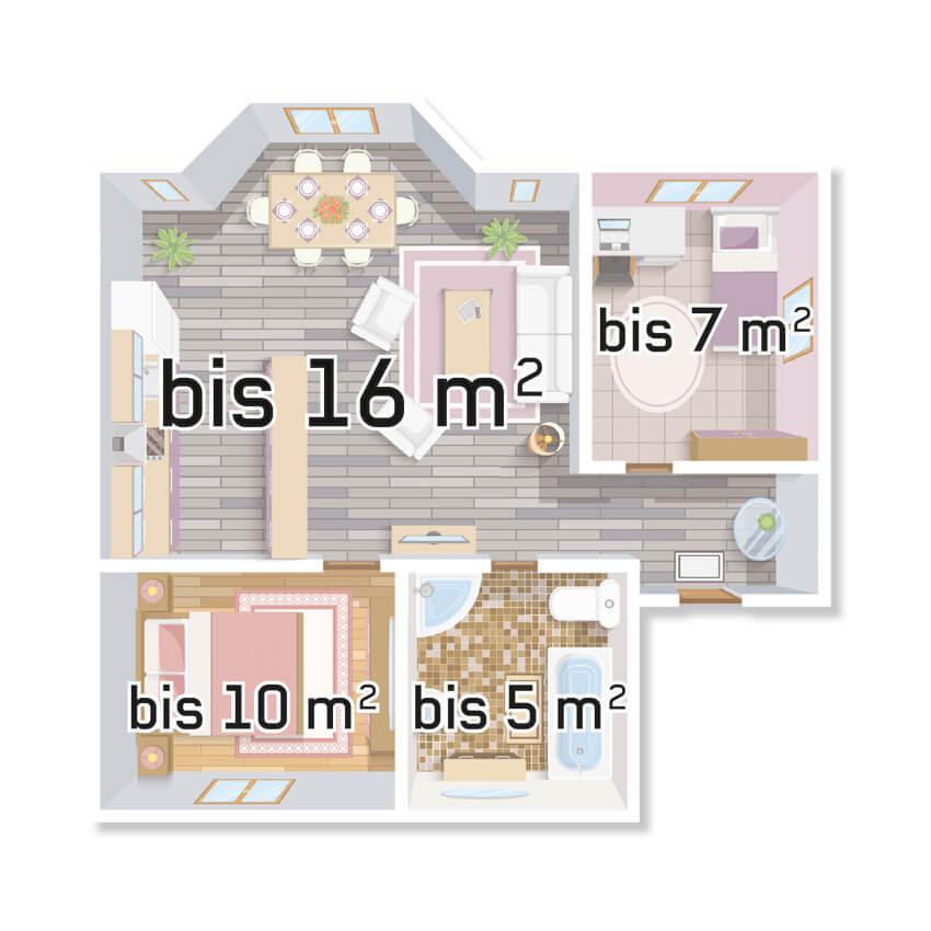 Infrarot-Flächenheizung, Infraplate pro, für die Wandmontage, Aluminium-Front Bild 3