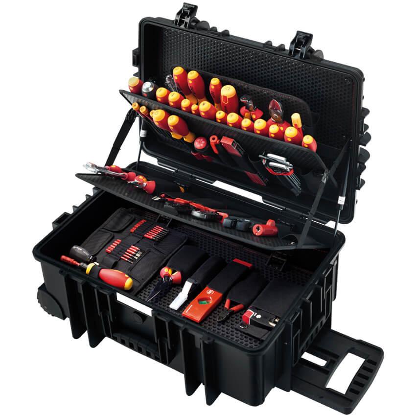 Elektriker-Werkzeugkoffer, Meister-Koffer, 115-teilig ...
