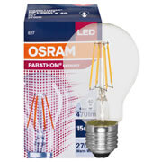 Filament-LED-Lampe, PHARATHOM RETROFIT AGL-Form, klar, E27/240V