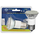 LED-Reflektorlampe, E27/3W, R50, Flood 60°, 150 lm, 6500K, L 80