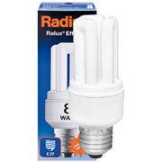 Energiesparlampe, E27, RALUX EFFICIENT