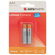 Batterie, Lithium extreme, Micro, L92, AAA, 1,5V, 2900 mAh, Blisterware