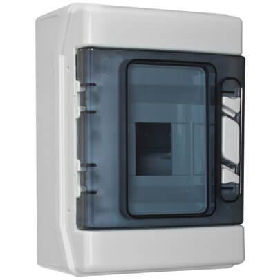 verteilerkasten 1 x 4 module ap verteilerk sten. Black Bedroom Furniture Sets. Home Design Ideas