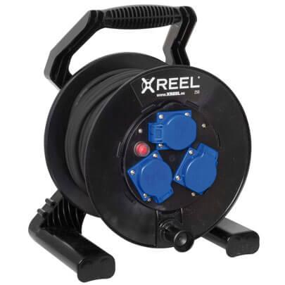 kabeltrommel xreel250 kabeltrommeln steckdosenverteiler. Black Bedroom Furniture Sets. Home Design Ideas