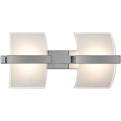 LED-Wandleuchte, 2 x 1 LED/5W (=10W)