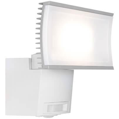 led au enstrahler mit bewegungsmelder noxlite hp floodlight ii leds 3000k au enstrahler. Black Bedroom Furniture Sets. Home Design Ideas