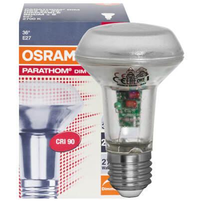 led reflektorlampe parathom concentra e27 240v vollglas. Black Bedroom Furniture Sets. Home Design Ideas