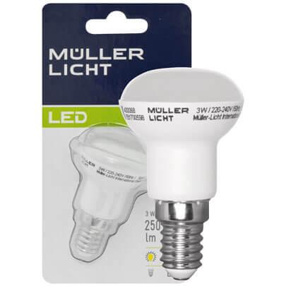 led reflektorlampe r39 e14 240v 3w 25w 230 lm lebensdauer stunden led. Black Bedroom Furniture Sets. Home Design Ideas
