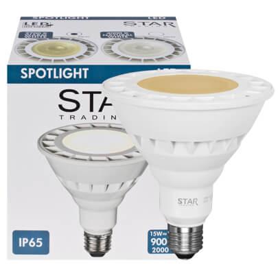 led reflektorlampe par38 e27 13w neuheiten max. Black Bedroom Furniture Sets. Home Design Ideas
