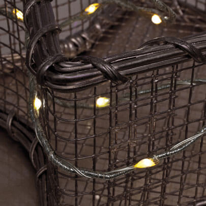 led minilichterkette 20 warmwei e leds batteriebetrieben. Black Bedroom Furniture Sets. Home Design Ideas