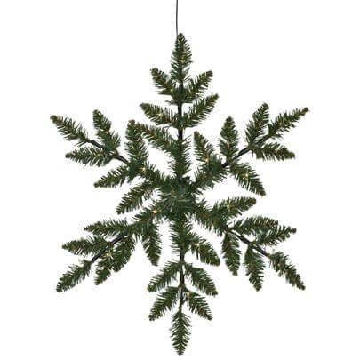 led silouette snowflake 36 warmwei e leds kr nze und girlanden weihnachtsdekorationen au en. Black Bedroom Furniture Sets. Home Design Ideas