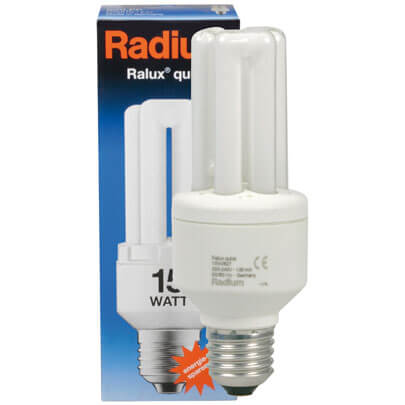 Energiesparlampe, E27, RALUX QUICK
