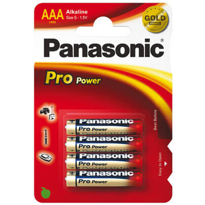 Batterie, Alkaline,  PRO POWER,  Blisterware