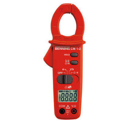 Digital-Stromzangen- Multimeter, CM 1-2