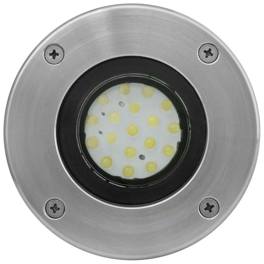 Extremely LED-Einbaustrahler-Set, 3 x LED/GU10/230V/1,1W - Erdeinbauleuchten  CL46